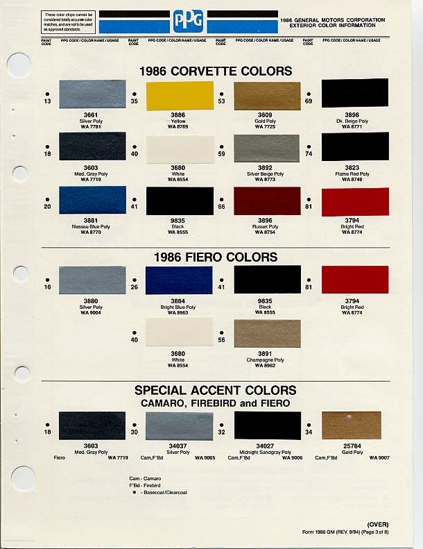 1000 images about auto paint colors codes on pinterest for Paint color chips