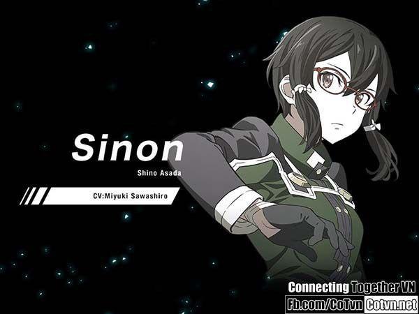 Miyuki Sawashiro (Celty Sturluson trong Durarara!!) trở lại lồng tiếng cho Sinon