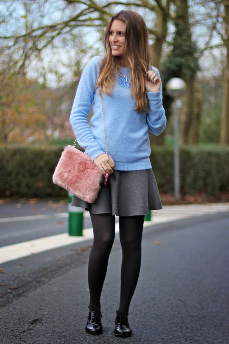 Grey & blue, pastel colors, aliexpress, baby blue, pink pastelstradivarius, furry bag, bolso peluche,  http://www.mitacondequitaypon.com/2015/01/grey-blue.html