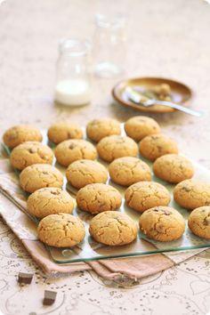 Verdade de sabor: Арахисовое печенье с шоколадом / Cookies de manteiga de amendoim e chocolate