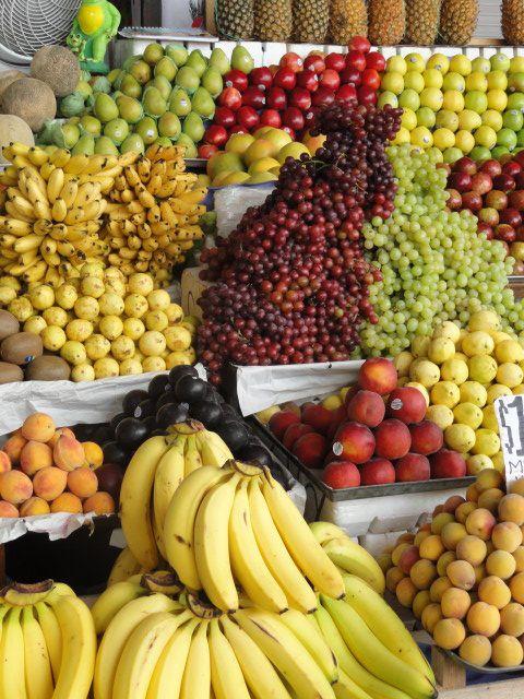 Mercado Central, frutas!!