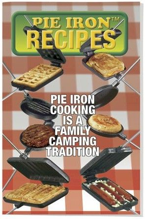 Pie iron cookbook, hobo pie recipes, pudgie pie recipes.
