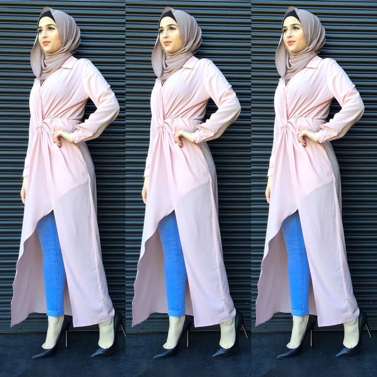 Are you Saturday night ready? This dusty pink knot dress paired with our new boyfriend jeans are a must have. ✨get your outfit today. Both stores are open till 5:30 today. #modelleofficial #ootd #hootd #hijab #fashion #voguehijabs #coveredhair #getthelook #outfit #modest #muslimah #style #styling #fashion #fashionblogger #fashionista