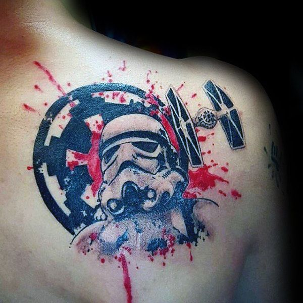 100 Stormtrooper Tattoo Designs for Men – Star Wars Ink Ideas