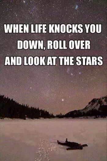 Thoughts Under The Stars, Life Knock, Starry Sky, Starry Night, Favorite Quotes, Living, Inspiration Quotes, Night Sky, ...