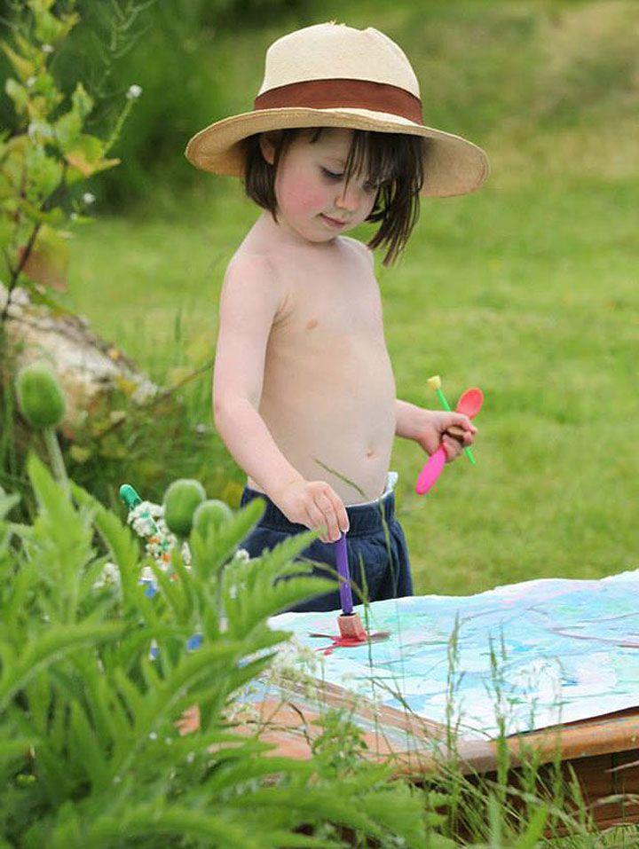 Cette petite fille autiste r�alise de superbes tableaux dignes des plus grands peintres impressionnistes