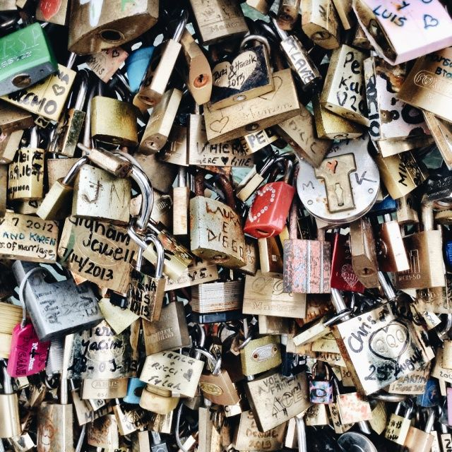 Love locks, Paris | VSCO | milss