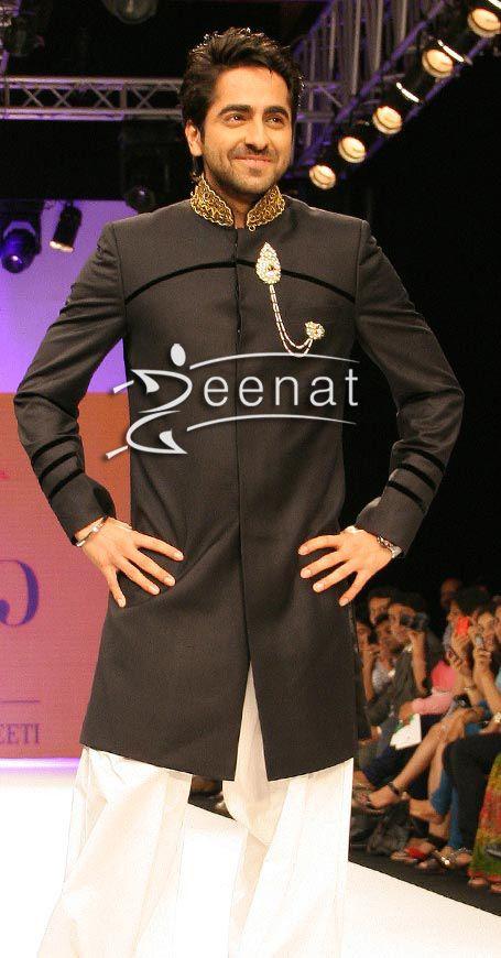 Ayushman khurana in designer sherwani men 39 s collection for The 8 boutique b b barcelona