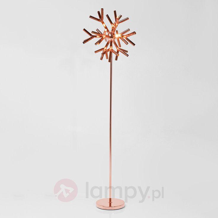 CORALLO COPPER – designerska lampa stojąca 5517329