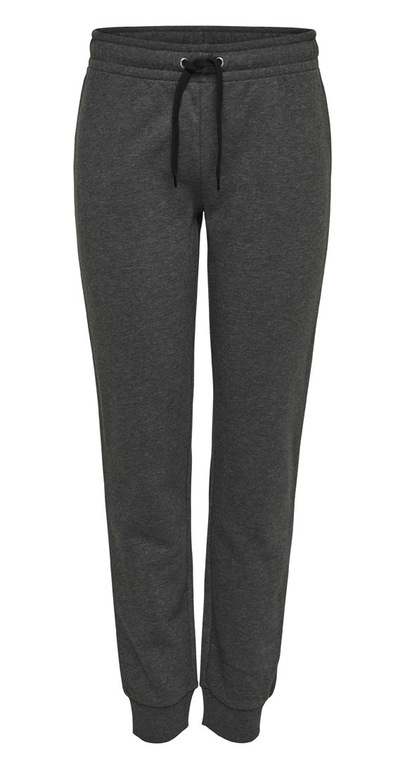 Chill Factor Sweatpants - dark grey or black.The ultimate chill factor, these sweatpants have old school style with an elasticized waist with drawstring and ribbed cuffs. Pair these with the She Believed Tee, throw on the Maverick jacket and your favourite kicks and there you have it! The coolest casual look around.  Elastic waist with drawstring Ribbed cuffs 100% Cotton Max 5% Shrinkage Brand: JDY