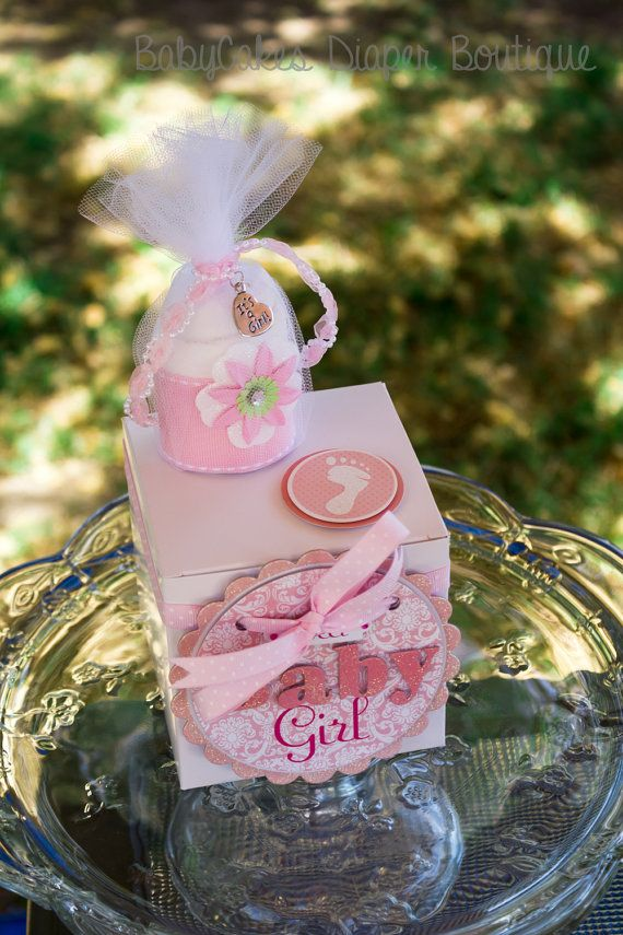 Baby Shower Diaper Cake Cupcake Gift Box For a by BabyCakesByDaisy