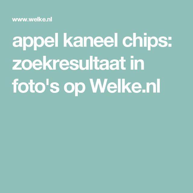 appel kaneel chips: zoekresultaat in foto's op Welke.nl