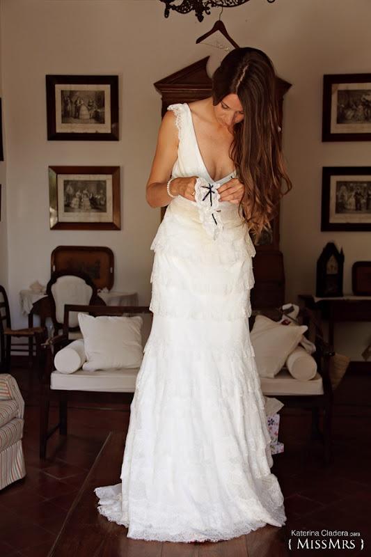 { MissMrs } mucho más que una boda  Novia con vestido Exalto  de Cymbeline