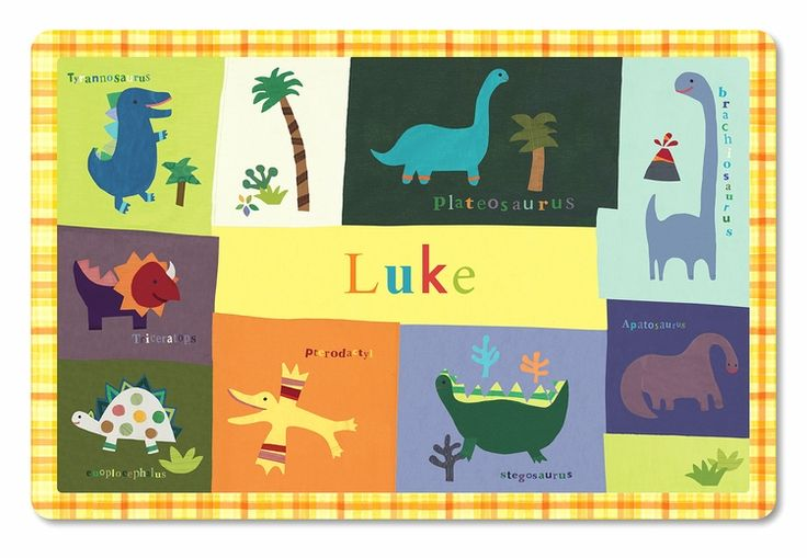 Dinomite Personalized Placemat