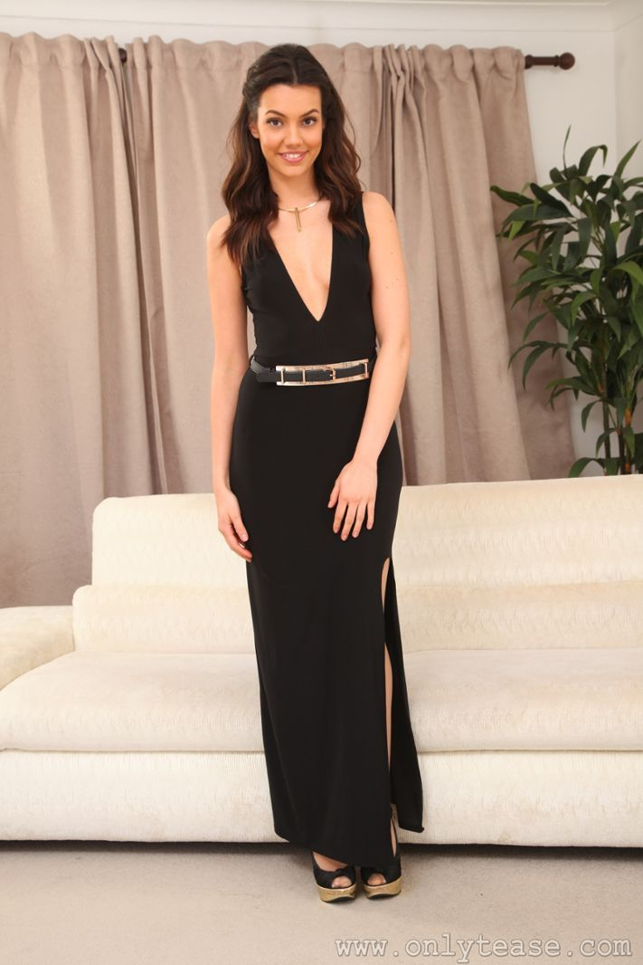 fba265a2a00d3 Abigail B at OnlyTease Evening Gowns, One Shoulder, Silk, Lady, Formal  Dresses