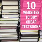 10 Websites To Buy Cheap Textbooks