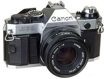 canon ae-1. my newest prized possession. unfortunately the film advance is stuck (sadface)