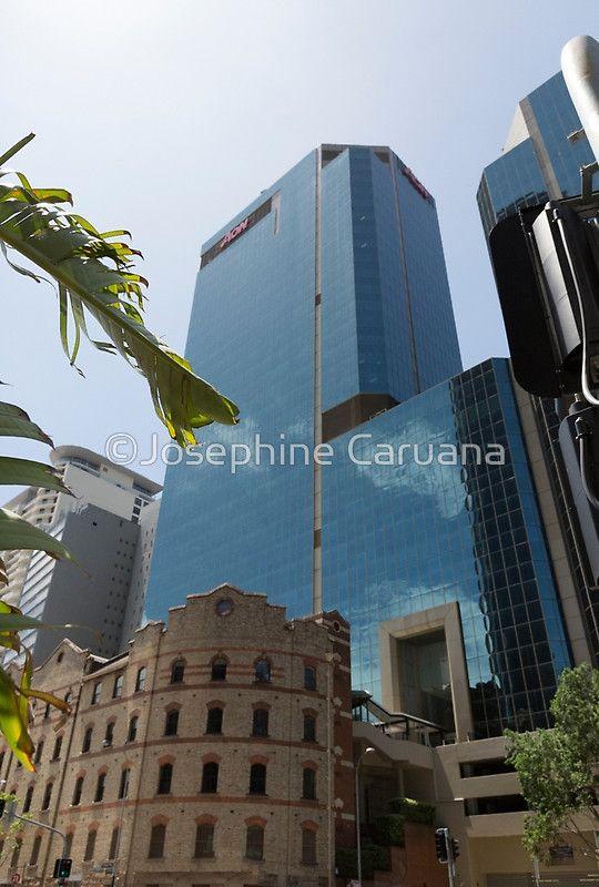 Old versus New, Sydney cityscape