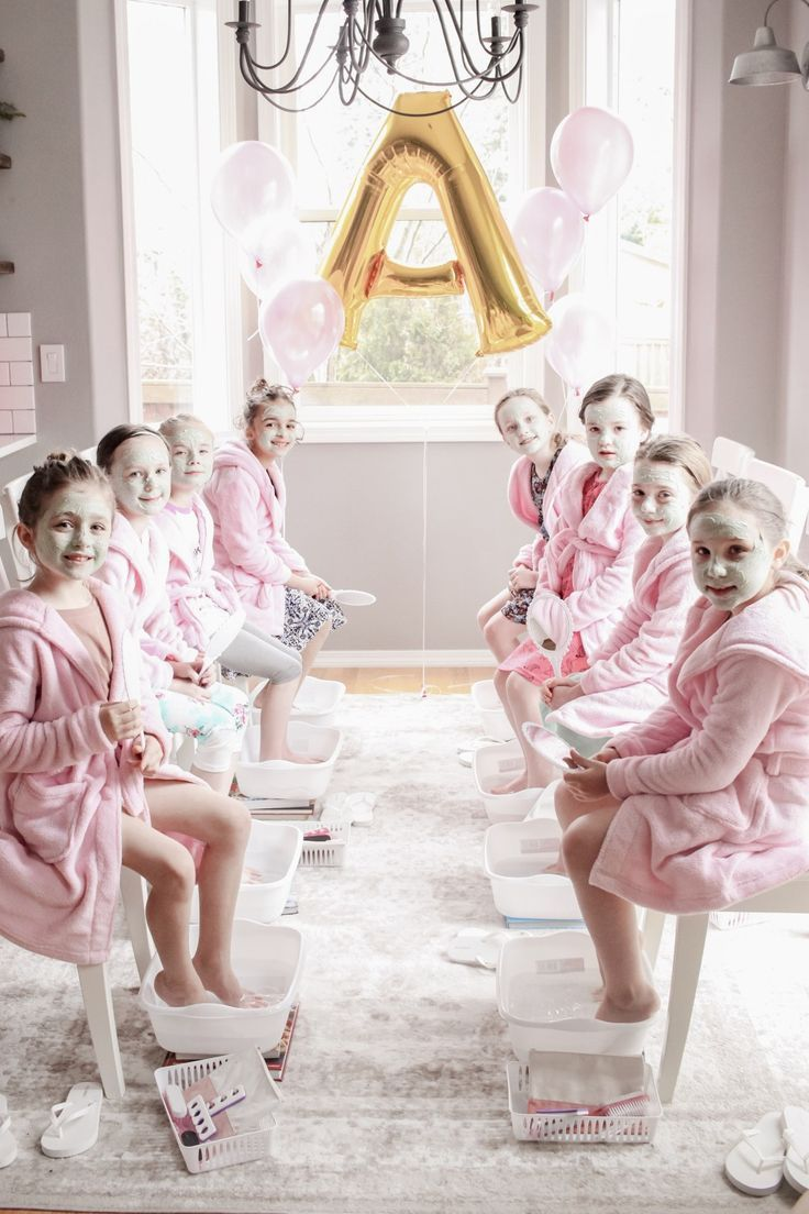Little Girl's Spa Birthday Party {DIY budget friendly parties for ...