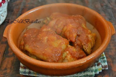Patas de cerdo en salsa comida pinterest salsa for Cocinar manitas de cerdo