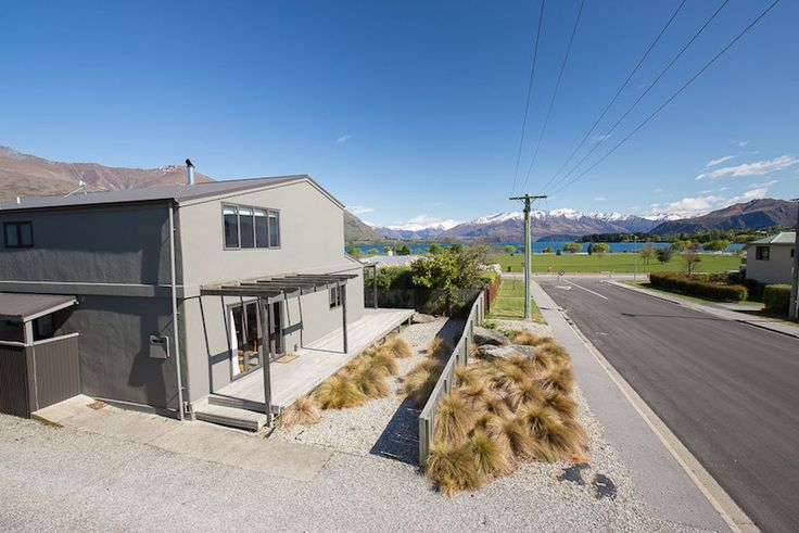 Located only one block from the lake, park, supermarket and Wanaka township, if you actually want to leave this beautiful house.....