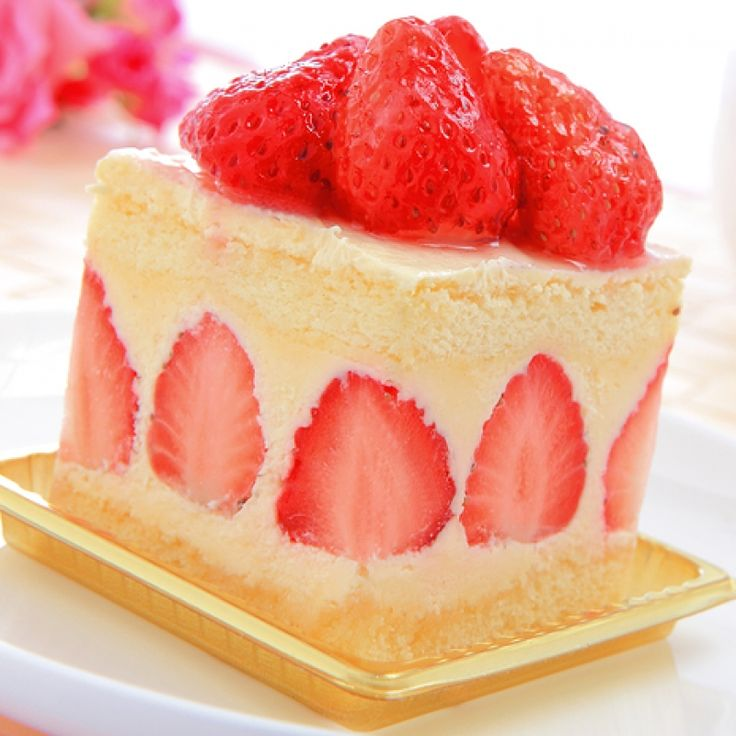 This fancy strawberry cake is a gorgeous moist vanilla cake, a light ...