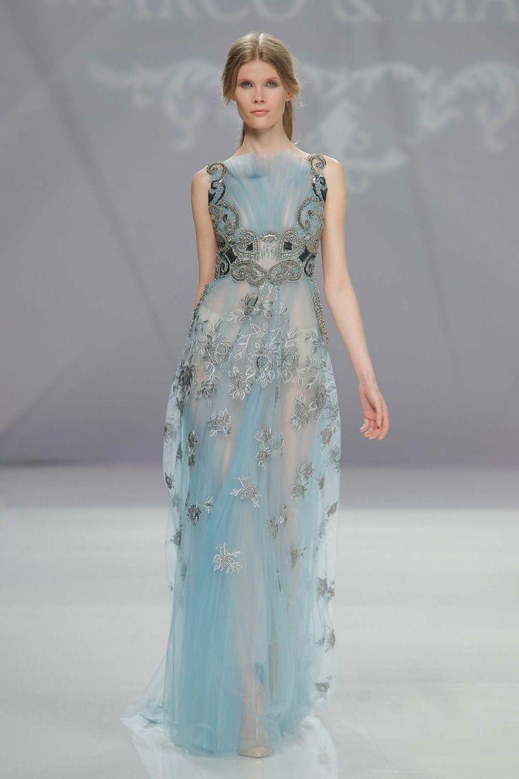 Marco & Maria Kollektion 2017  Etwas blaues - #Hochzeitskleid