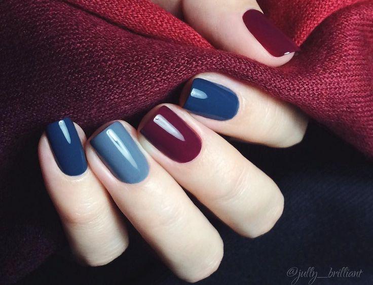 Manicura blue