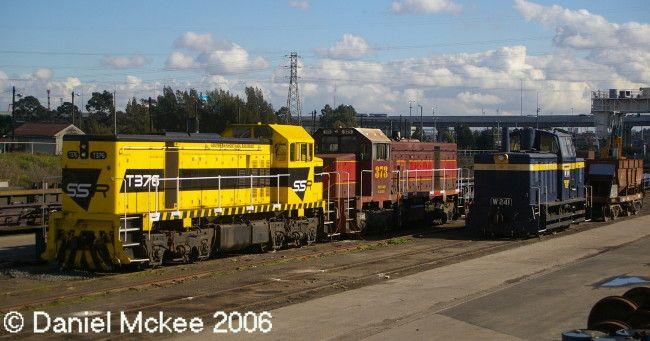 T376-T373-W241 at SSR Yard Melbourne