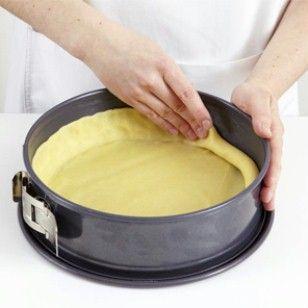 Mürbeteig - Basis für Kuchen und Torten