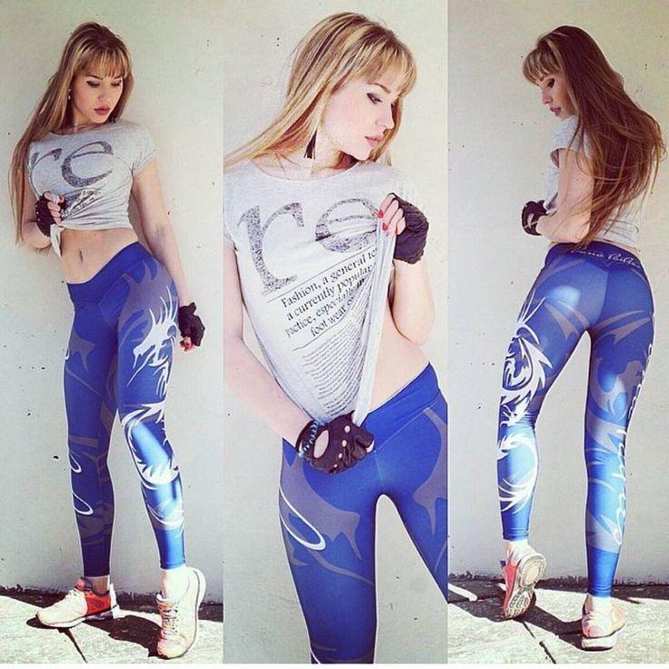 Bona Classic (Dragon Breath Blue)  #bonafide #лосины#leggings #fitness