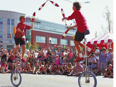 Waterloo Buskers Carnival