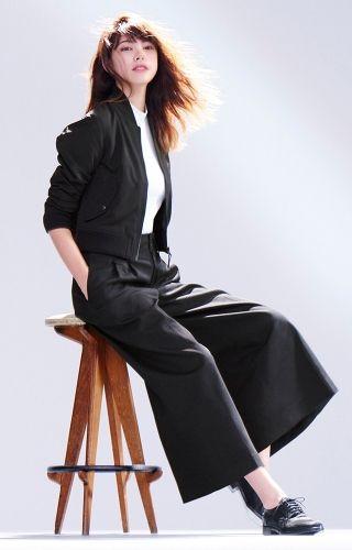 人気モデル森星さんに聞く!この春のワイドパンツの着こなし:Timeline - UNIQLO ユニクロ