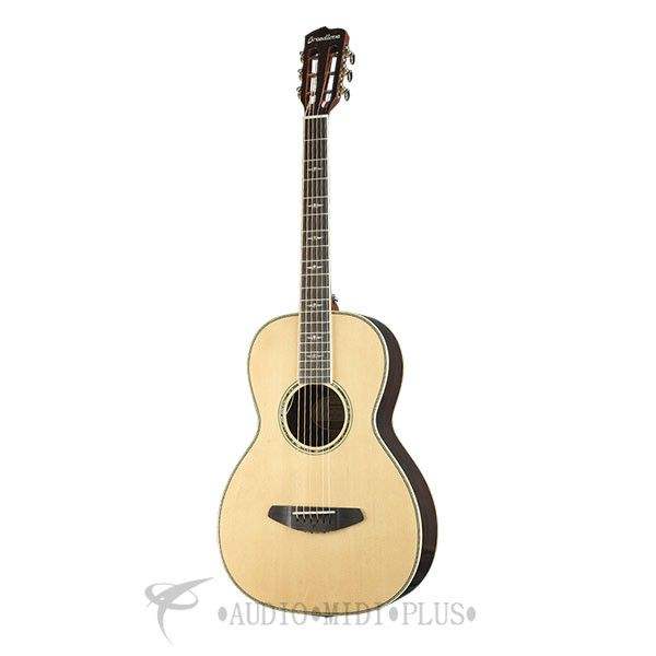 Breedlove Stage Parlor Limited Edition Acoustic/Electric Guitar - Natural - SPLEAEGNT
