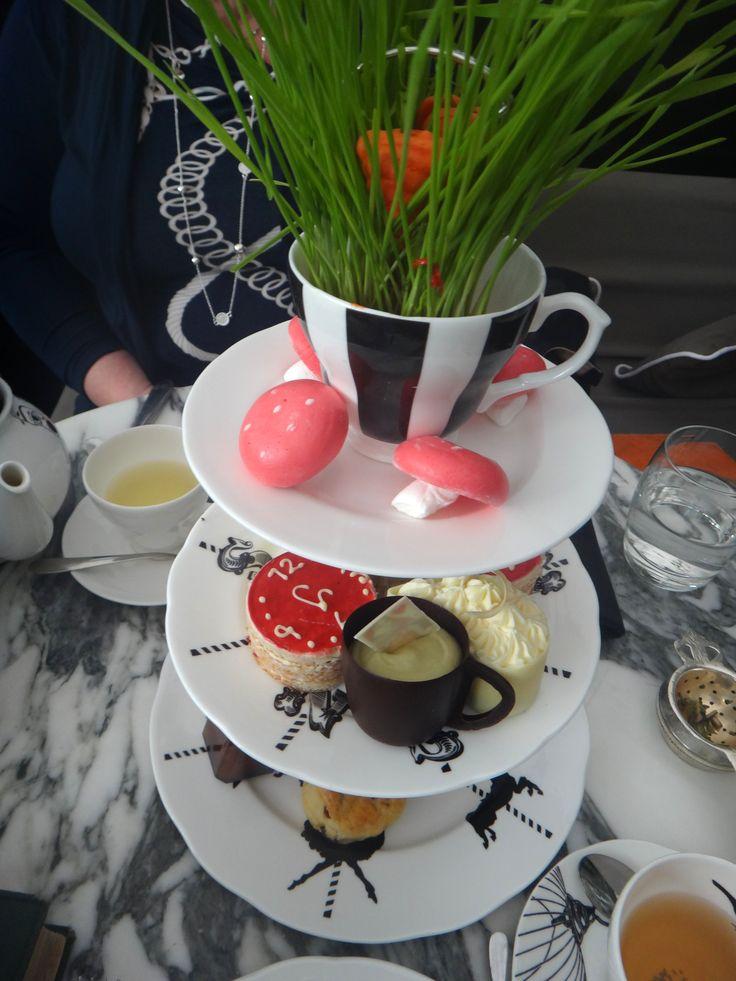 London, Afternoon tea, Alice in Wonderland, Best, Delicious, Reasonable