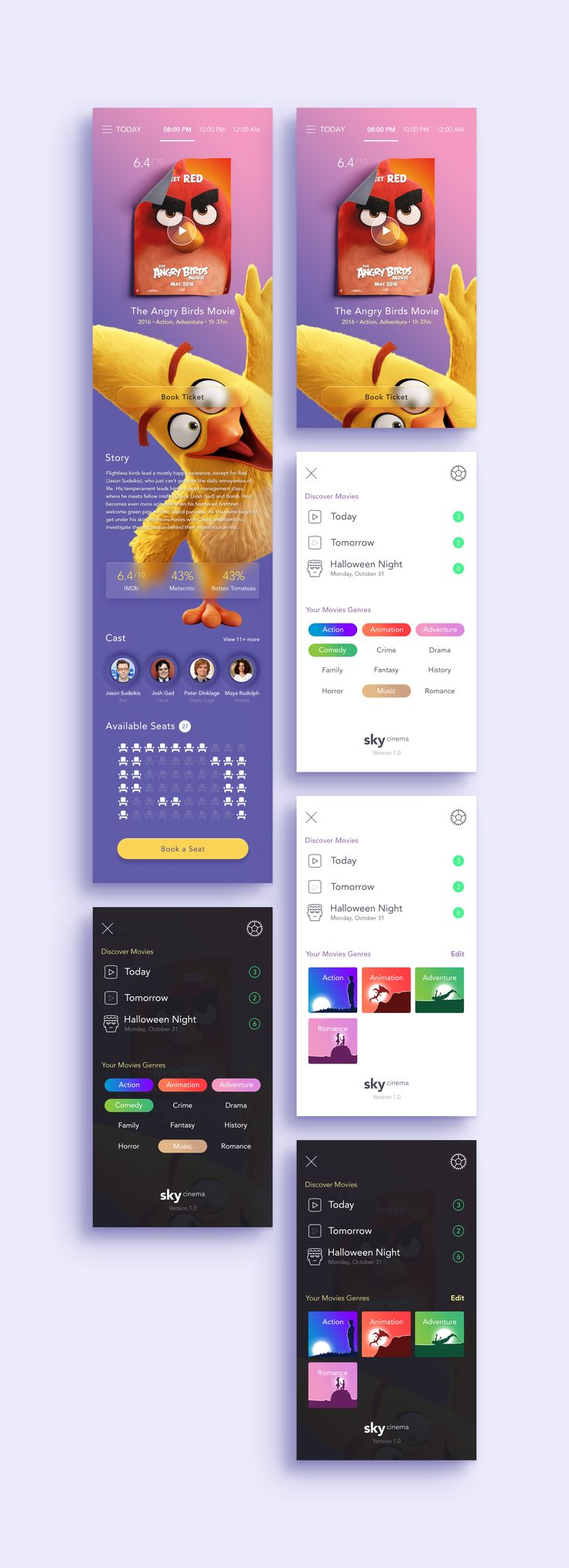 Cinema app by moatasem kharazz