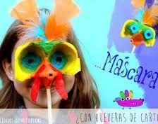 Resultado de imagen para mascara de HUEMUL  para niños