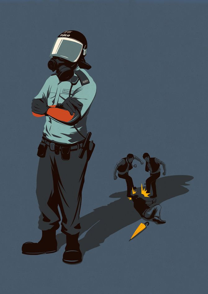 Police Brutality - Eric Chow