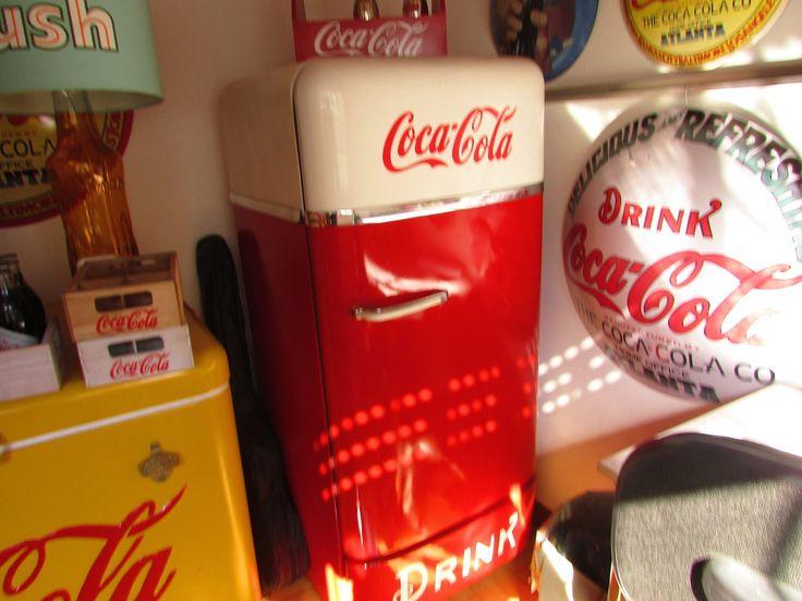 Geladeira Antiga Coca Cola