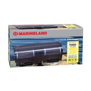 Marineland Penguin Power Filter, 50 to 70-Gallon, 350 GPH: Aquarium Pumps & Filters