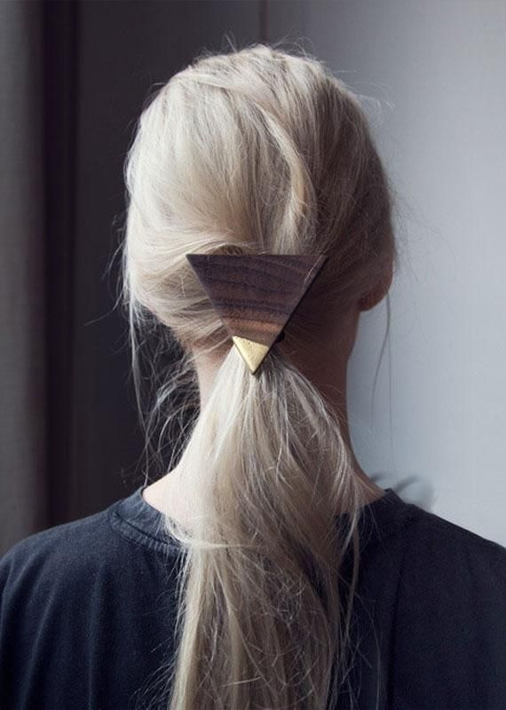 Add interest to a low pony with a wooden adornment.