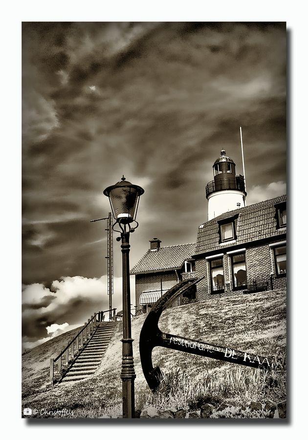 Lighthouse - Urk by Alfred E. Neuman, via 500px