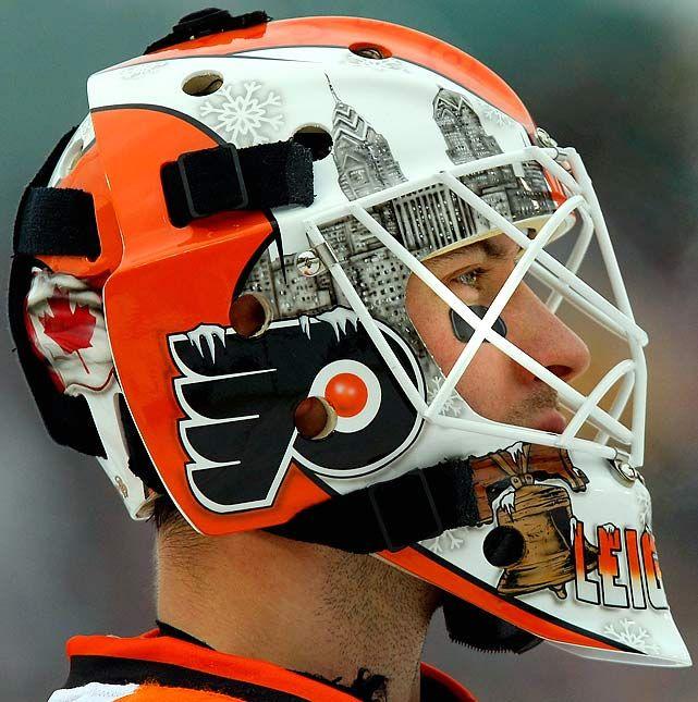 NHL Goalie Masks By Team | NHL Goalie Masks by Team (2009-10) - Michael Leighton | Sports ...