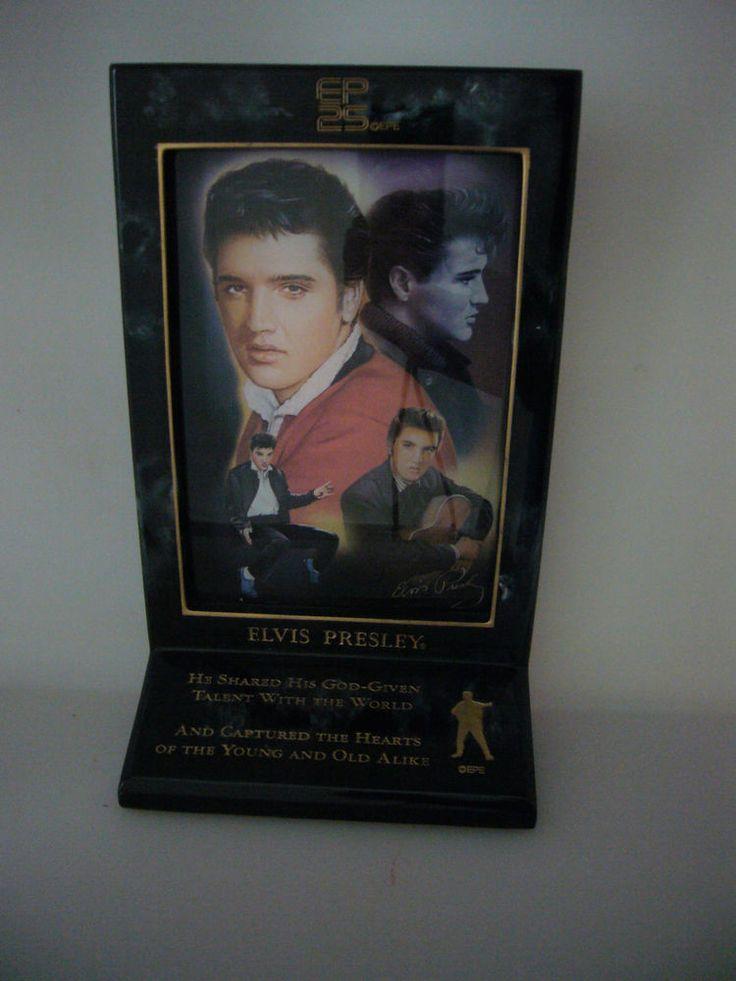 Elvis 25th Anniversary Memorial Bradford Exchange God-Given Talent