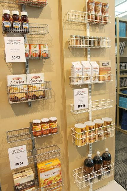 Organizing Your Kitchen: A Visit to The Container Store