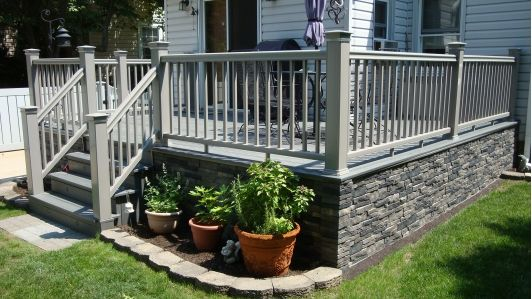 Wood Deck - Home and Garden Design Idea's