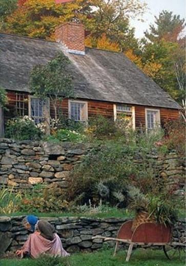 Beautiful home of Tasha Tudor