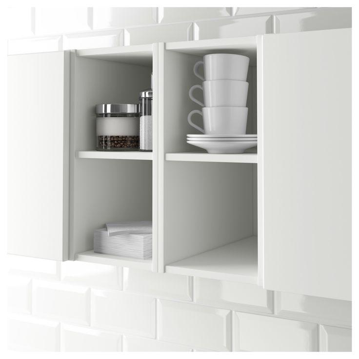 IKEA - HÖRDA, Nyitott szekrény, 20x37x40 cm, fehér,