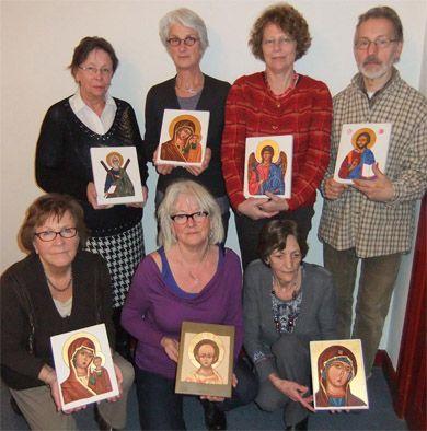 cursus ikoonschilderen in arcen 2013