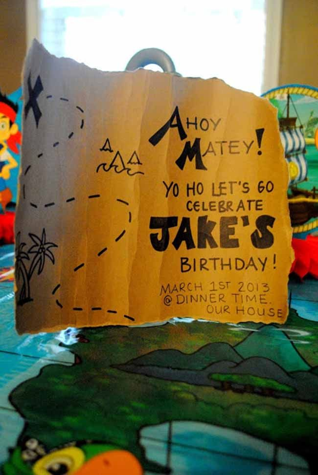 jake and the neverland pirates party - 10 boy party ideas you will love www.spaceshipsandlaserbeams.com